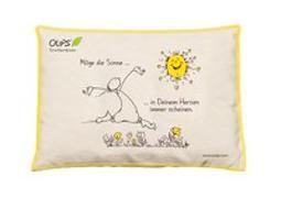 Cover-Bild zu Oups Kirschkernkissen Natur Gelb - Möge die Sonne...in Deinem Herzen immer scheinen