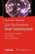 Cover-Bild zu Zum Nachdenken: Unser Sonnensystem