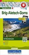 Cover-Bild zu Aletsch, Goms, Brig Touren-Wanderkarte Nr. 6. 1:50'000