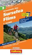 Cover-Bild zu Surselva-Flims Mountainbike-Karte Nr. 9, 1:50 000. 1:50'000