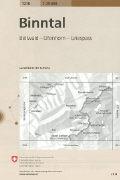 Cover-Bild zu Binntal. 1:25'000