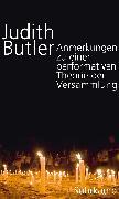 Cover-Bild zu Butler, Judith: Anmerkungen zu einer performativen Theorie der Versammlung (eBook)