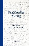 Cover-Bild zu Der Braumüller Verlag