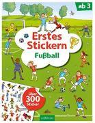 Cover-Bild zu Erstes Stickern Fußball
