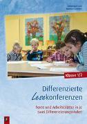 Cover-Bild zu Differenzierte Lesekonferenzen - Klasse 1/2 von Lurz, Dominique