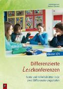 Cover-Bild zu Differenzierte Lesekonferenzen - Klasse 3/4 von Lurz, Dominique