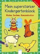 Cover-Bild zu Malen, Suchen, Konzentration von Schäfer, Carola