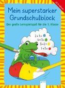 Cover-Bild zu Der große Lernspielspaß für die 1. Klasse von Pätz, Christine