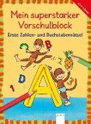 Cover-Bild zu Erste Zahlen- und Buchstabenrätsel von Krapp, Christiane