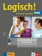 Cover-Bild zu Logisch! neu A2. Lehrerhandbuch mit Video-DVD von Dengler, Stefanie