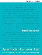 Cover-Bild zu D. Acemoglu D. Laibson J. Li: Microéconomie Livre + eText + MonLabXL