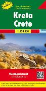 Cover-Bild zu Kreta, Autokarte 1:150.000, Top 10 Tips. 1:150'000