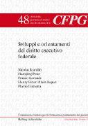 Cover-Bild zu Sviluppi e orientamenti del diritto esecutivo federale