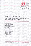 Cover-Bild zu La presenza della lingua italiana nel diritto svizzero