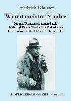 Cover-Bild zu Glauser, Friedrich: Wachtmeister Studer Die fünf Romane in einem Buch