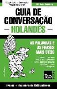 Cover-Bild zu Guia de Conversação Portuguès-Holandès E Dicionário Conciso 1500 Palavras