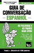Cover-Bild zu Guia de Conversação Portuguès-Espanhol E Dicionário Conciso 1500 Palavras