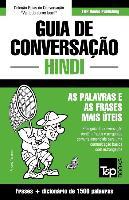 Cover-Bild zu Guia de Conversação Portuguès-Hindi E Dicionário Conciso 1500 Palavras