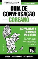 Cover-Bild zu Guia de Conversação Portuguès-Coreano E Dicionário Conciso 1500 Palavras
