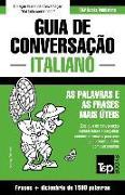 Cover-Bild zu Guia de Conversação Portuguès-Italiano E Dicionário Conciso 1500 Palavras