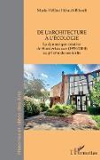 Cover-Bild zu De l'architecture à l'écologie von Hérault-Bibault, Marie-Hélène