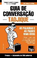 Cover-Bild zu Guia de Conversação Portuguès-Tadjique E Mini Dicionário 250 Palavras