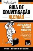 Cover-Bild zu Guia de Conversação Portuguès-Alemão E Mini Dicionário 250 Palavras