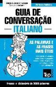 Cover-Bild zu Guia de Conversação Portuguès-Italiano E Vocabulário Temático 3000 Palavras