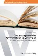 Cover-Bild zu Zimmermann, Nadja: Das erstinstanzliche Asylverfahren in Österreich