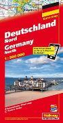Cover-Bild zu Deutschland Nord Strassenkarte 1:500 000. 1:500'000