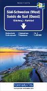 Cover-Bild zu Süd-Schweden (West) Regionalkarte Schweden Blatt 2. 1:250'000
