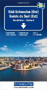 Cover-Bild zu Süd-Schweden (Ost) Blatt 3. 1:250'000