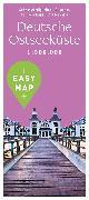 Cover-Bild zu EASY MAP Deutsche Ostseeküste