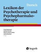 Cover-Bild zu Dorsch - Lexikon der Psychotherapie und Psychopharmakotherapie von Petermann, Franz (Hrsg.)