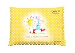 Cover-Bild zu Oups Zirbenkissen Gelb - Das Leben ist schön