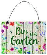 Cover-Bild zu Blatt & Blüte Gartenschild