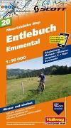 Cover-Bild zu Entlebuch, Emmental Mountainbike-Karte Nr. 20, 1:50 000. 1:50'000