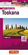 Cover-Bild zu Toskana Flash Guide Strassenkarte 1:200 000. 1:200'000