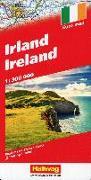 Cover-Bild zu Irland 1:300 000 Strassenkarte. 1:300'000