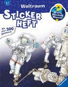 Cover-Bild zu Kockmann, Oliver (Illustr.): Wieso? Weshalb? Warum? Stickerheft: Weltraum