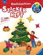 Cover-Bild zu Rau, Katja (Illustr.): Wieso? Weshalb? Warum? Stickerheft: Weihnachten