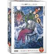 Cover-Bild zu The Blue Violinist. Puzzle 1000 Teile