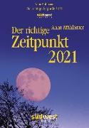 Cover-Bild zu Der richtige Zeitpunkt 2021 Tagesabreißkalender von Mühlbauer, Anna