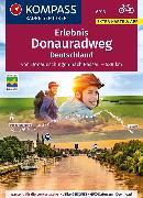 Cover-Bild zu KOMPASS RadReiseFührer Erlebnis Donauradweg Deutschland