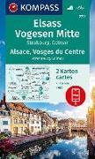 Cover-Bild zu KOMPASS Wanderkarte Elsass, Vogesen Mitte, Alsace, Vosges du Centre. 1:50'000