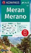 Cover-Bild zu KOMPASS Wanderkarte Meran, Merano. 1:25'000