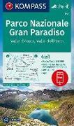 Cover-Bild zu KOMPASS Wanderkarte Parco Nazionale Gran Paradiso, Valle d'Aosta, Valle dell'Orco. 1:50'000