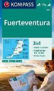 Cover-Bild zu KOMPASS Wanderkarte Fuerteventura. 1:50'000