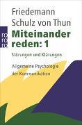 Cover-Bild zu Schulz von Thun, Friedemann: Miteinander reden 1