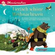 Cover-Bild zu Tierisch schöne Weihnachtszeit von Lindgren, Astrid